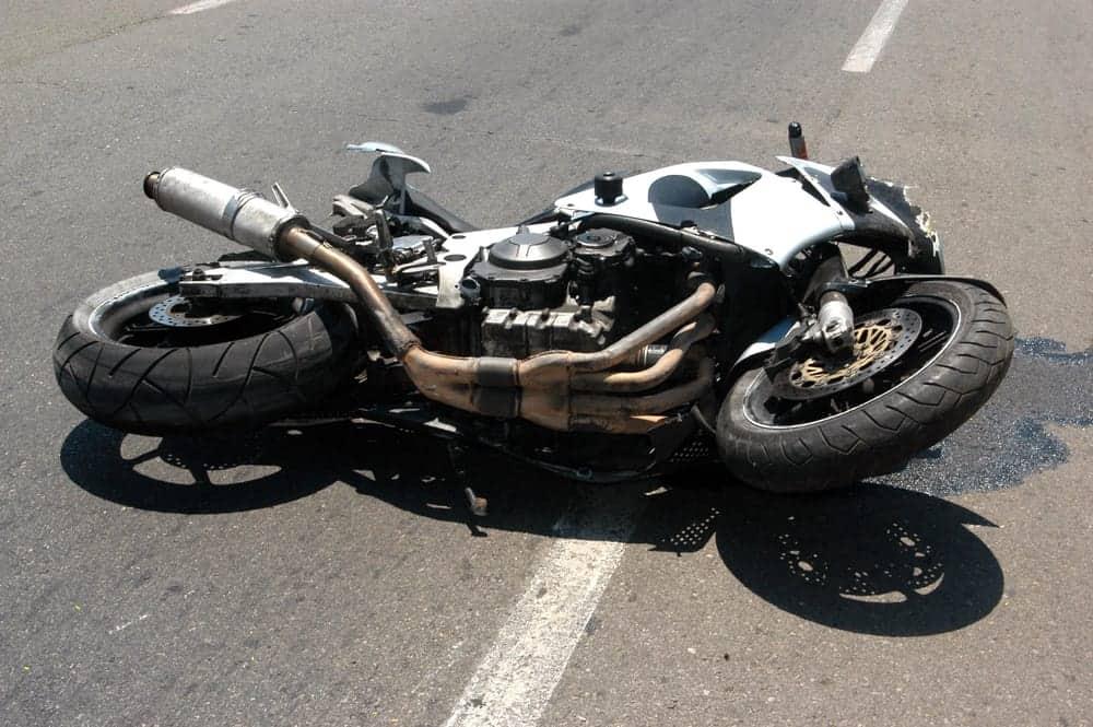 תאונת אופנוע קשה