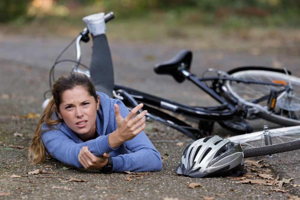 תאונה אופניים חשמליים